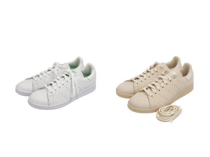 【adidas Originals/アディダス オリジナルス】のスタンスミス [STAN SMITH] アディダスオリジナルス&スタンスミス [STAN SMITH] アディダスオリジナルス シューズ・靴のおすすめ!人気、レディースファッションの通販  おすすめファッション通販アイテム レディースファッション・服の通販 founy(ファニー) ファッション Fashion レディース WOMEN クラシック シューズ ストライプ スニーカー スリッポン リメイク レース  ID:crp329100000003197