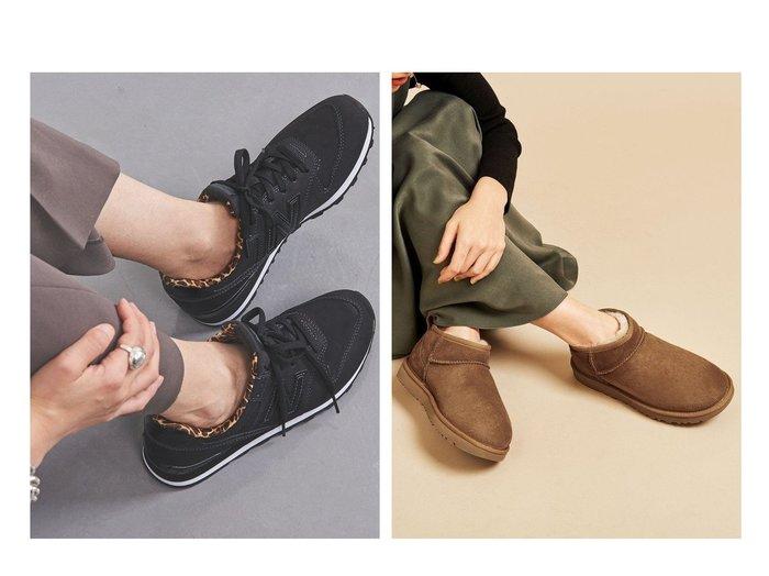 【UNITED ARROWS/ユナイテッドアローズ】のWL996 V2 LEO スニーカー&【BEAUTY&YOUTH UNITED ARROWS/ビューティアンド ユースユナイテッドアローズ】のクラッシック ウルトラミニブーツ シューズ・靴のおすすめ!人気、レディースファッションの通販  おすすめファッション通販アイテム インテリア・キッズ・メンズ・レディースファッション・服の通販 founy(ファニー) https://founy.com/ ファッション Fashion レディース WOMEN シェイプ シューズ スニーカー スリッポン バランス フィット ボストン レオパード アシンメトリー インソール くるぶし カリフォルニア クラシック ショート 人気 フォルム ライニング |ID:crp329100000003198