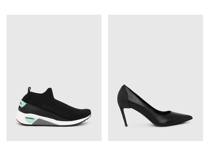 【DIESEL/ディーゼル】のD-SLANTYMH&S-KB SOCK QB W シューズ・靴のおすすめ!人気、レディースファッションの通販  おすすめファッション通販アイテム レディースファッション・服の通販 founy(ファニー) ファッション Fashion レディース WOMEN シューズ ストレッチ スニーカー スリッポン ソックス トライアングル トレンド 定番 シンプル |ID:crp329100000003199