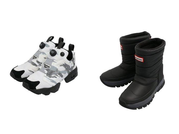 【Reebok CLASSIC/リーボック】のインスタポンプ フューリー [INSTAPUMP FURY TRAIL] リーボック&【HUNTER/ハンター】の【レディース】オリジナル スノーショートブーツ シューズ・靴のおすすめ!人気、レディースファッションの通販  おすすめファッション通販アイテム レディースファッション・服の通販 founy(ファニー) ファッション Fashion レディース WOMEN アウトドア アンダー カモフラージュ キャップ クッション シューズ スニーカー スリッポン フィット プリント ライニング キルト クラシック ショート スタイリッシュ メンズ |ID:crp329100000003203