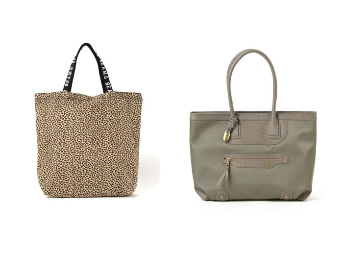 【Demi-Luxe BEAMS/デミルクス ビームス】のTOFF& Key フレンズ トートバッグ&【Ray BEAMS/レイ ビームス】のレオパード ナイロン ジップ トートバッグ バッグ・鞄のおすすめ!人気、レディースファッションの通販  おすすめファッション通販アイテム インテリア・キッズ・メンズ・レディースファッション・服の通販 founy(ファニー) https://founy.com/ ファッション Fashion レディース WOMEN バッグ Bag ジップ トレンド ポケット レオパード クラシック 軽量 スマート 人気 バランス モダン モチーフ |ID:crp329100000003218