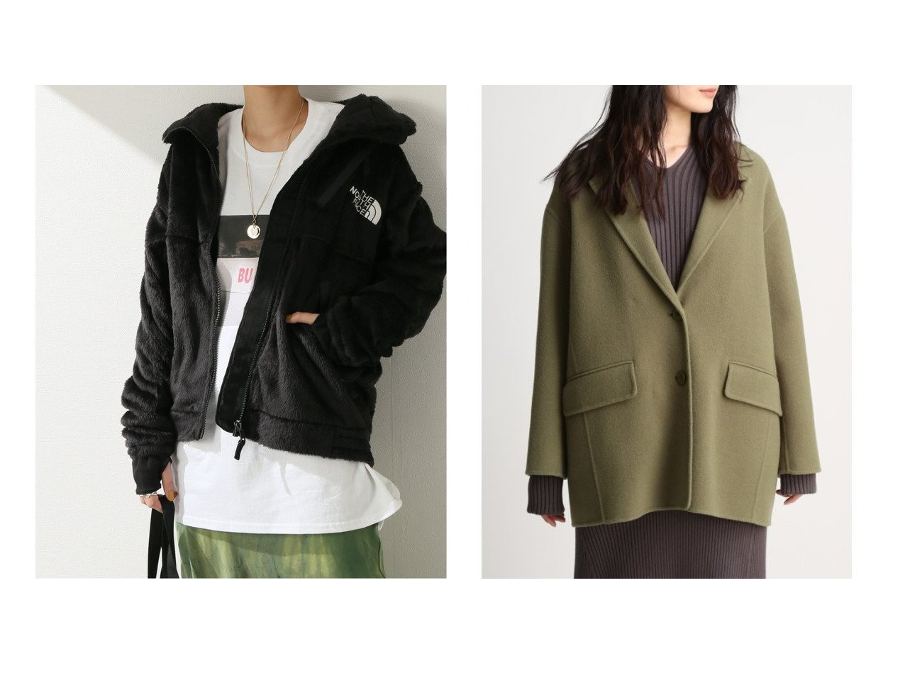 【Mila Owen/ミラオーウェン】のライナー付きジャケットコート&【JOURNAL STANDARD/ジャーナルスタンダード】の【ザ・ノース・フェイス】 ANT VRS LFT JKT:ブルゾン アウターのおすすめ!人気、レディースファッションの通販  おすすめで人気のファッション通販商品 インテリア・家具・キッズファッション・メンズファッション・レディースファッション・服の通販 founy(ファニー) https://founy.com/ ファッション Fashion レディース WOMEN アウター Coat Outerwear ブルゾン Blouson Jackets コート Coats ジャケット Jackets 秋冬 A/W Autumn/ Winter アウトドア ブルゾン ジャケット スマート ライナー 冬 Winter |ID:crp329100000003225