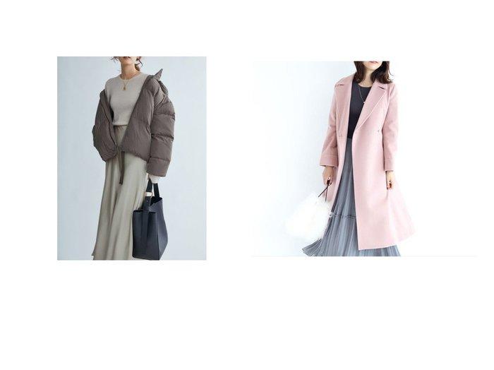 【JUSGLITTY/ジャスグリッティー】のベルテッドロングコート&【Mila Owen/ミラオーウェン】の裾リボンダウンジャケット アウターのおすすめ!人気、レディースファッションの通販  おすすめファッション通販アイテム レディースファッション・服の通販 founy(ファニー) ファッション Fashion レディース WOMEN アウター Coat Outerwear ジャケット Jackets コート Coats シャーリング ジャケット スポーティ スマート ダウン フェザー フレンチ 秋冬 A/W Autumn/ Winter アンゴラ エレガント クラシック シンプル ラグジュアリー  ID:crp329100000003241