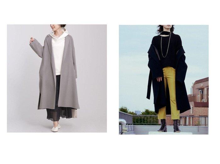 【nano universe/ナノ ユニバース】のダブルフェイスオーバーコート&【Ray BEAMS/レイ ビームス】のメルトン リバー ラップ コート アウターのおすすめ!人気、レディースファッションの通販  おすすめファッション通販アイテム レディースファッション・服の通販 founy(ファニー) ファッション Fashion レディース WOMEN アウター Coat Outerwear コート Coats ジャケット Jackets チェスターコート Top Coat イタリア シンプル ジャケット ストール スリット ダブル チェスターコート フェイス ポケット ロング ベーシック メルトン ラップ |ID:crp329100000003251