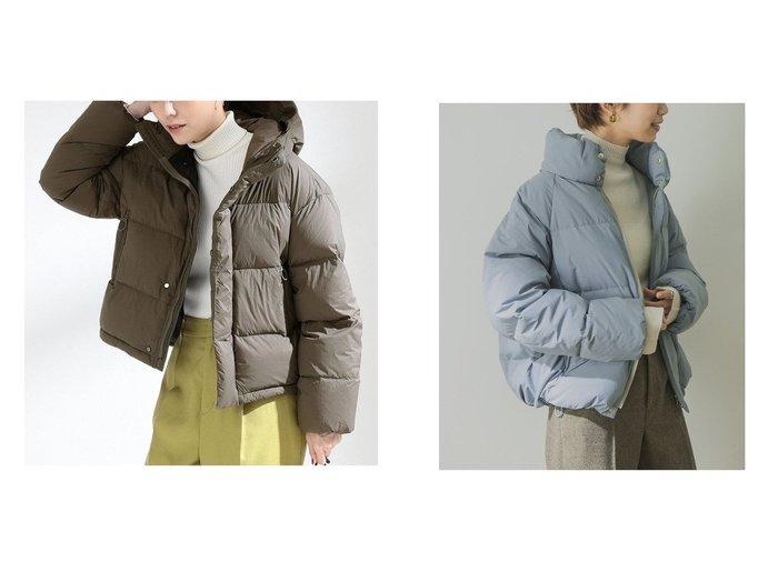 【Ray BEAMS/レイ ビームス】のホワイトグース ダウンジャケット&【URBAN RESEARCH/アーバンリサーチ】のスタンドカラーショートダウン アウターのおすすめ!人気、レディースファッションの通販  おすすめファッション通販アイテム レディースファッション・服の通販 founy(ファニー) ファッション Fashion レディース WOMEN アウター Coat Outerwear コート Coats ジャケット Jackets シンプル ジャケット ダウン 軽量 防寒 インナー ギャザー ショート スタンダード スタンド スピンドル トレンド 定番 バランス 冬 Winter |ID:crp329100000003254