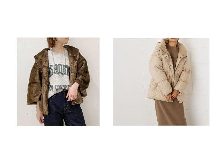 【AZUL by moussy/アズール バイ マウジー】のWAIST MARK MIDDLE COAT&【UNGRID/アングリッド】のUngrid フェイクファーポンチョ アウターのおすすめ!人気、レディースファッションの通販  おすすめファッション通販アイテム レディースファッション・服の通販 founy(ファニー) ファッション Fashion レディース WOMEN アウター Coat Outerwear ポンチョ Ponchos コート Coats アクリル スウェット デニム ポンチョ なめらか ハイネック フィット フレア ベーシック 冬 Winter  ID:crp329100000003266