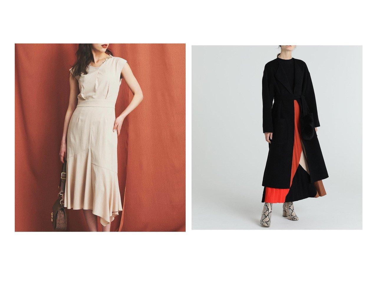 【Noela/ノエラ】のアシメヘムワンピース&【GRACE CONTINENTAL/グレース コンチネンタル】のプリーツニットワンピース ワンピース・ドレスのおすすめ!人気、レディースファッションの通販  おすすめで人気のファッション通販商品 インテリア・家具・キッズファッション・メンズファッション・レディースファッション・服の通販 founy(ファニー) https://founy.com/ ファッション Fashion レディース WOMEN ワンピース Dress ニットワンピース Knit Dresses シンプル マーメイド トレンド ブロック プリーツ モダン  ID:crp329100000003348