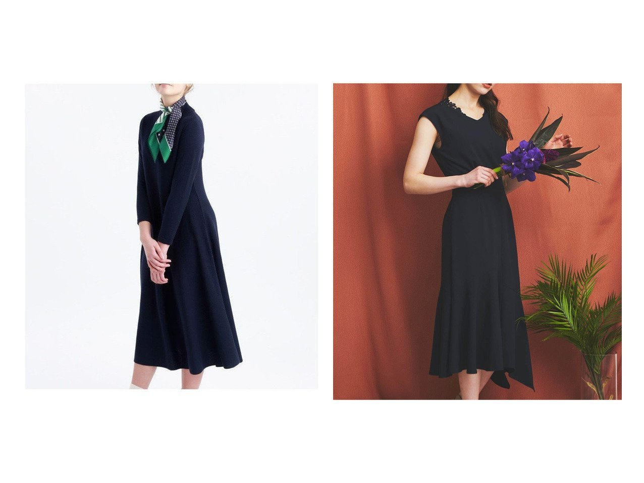 【Noela/ノエラ】のアシメヘムワンピース&【MACKINTOSH PHILOSOPHY/マッキントッシュ フィロソフィー】のボトルネックワンピース ワンピース・ドレスのおすすめ!人気、レディースファッションの通販  おすすめで人気のファッション通販商品 インテリア・家具・キッズファッション・メンズファッション・レディースファッション・服の通販 founy(ファニー) https://founy.com/ ファッション Fashion レディース WOMEN ワンピース Dress ボトルネック シンプル マーメイド  ID:crp329100000003349