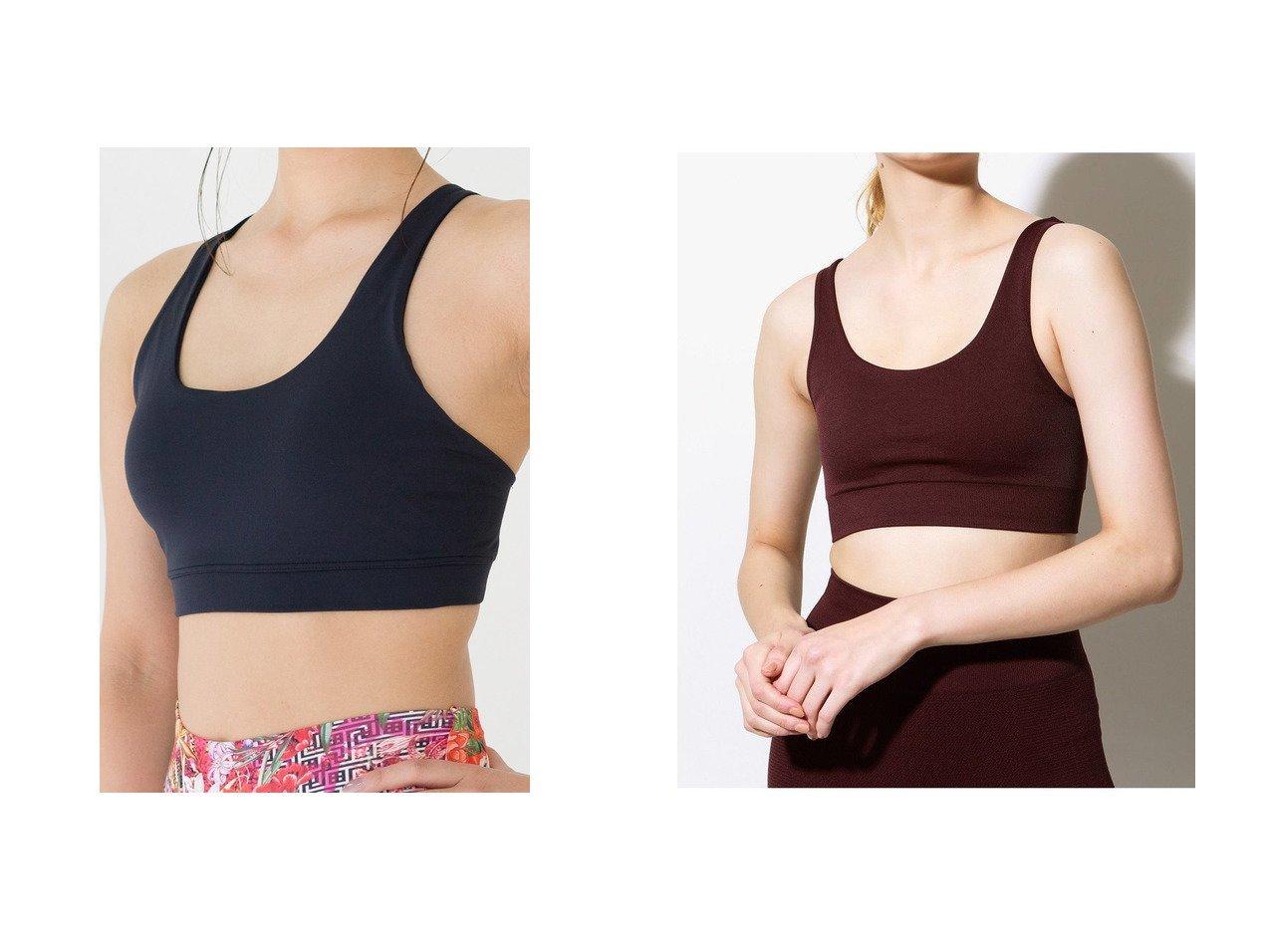 【ECOALF/エコアルフ】のMALIBU ベーシック ヨガトップス BASIC MALIBU YOGA TOPS&【Women's Health/ウィメンズヘルス】の【Linda Works】ステラブラ ブラック フィットネス・ヨガ・スポーツウェアのおすすめ!人気、レディースファッションの通販  おすすめで人気のファッション通販商品 インテリア・家具・キッズファッション・メンズファッション・レディースファッション・服の通販 founy(ファニー) https://founy.com/ ファッション Fashion レディース WOMEN トップス Tops Tshirt スポーツウェア Sportswear スポーツ トップス Tops シンプル スタンダード スポーツ フィット フロント プリント ヨガ ランニング レギンス ワーク コレクション ベーシック |ID:crp329100000003550