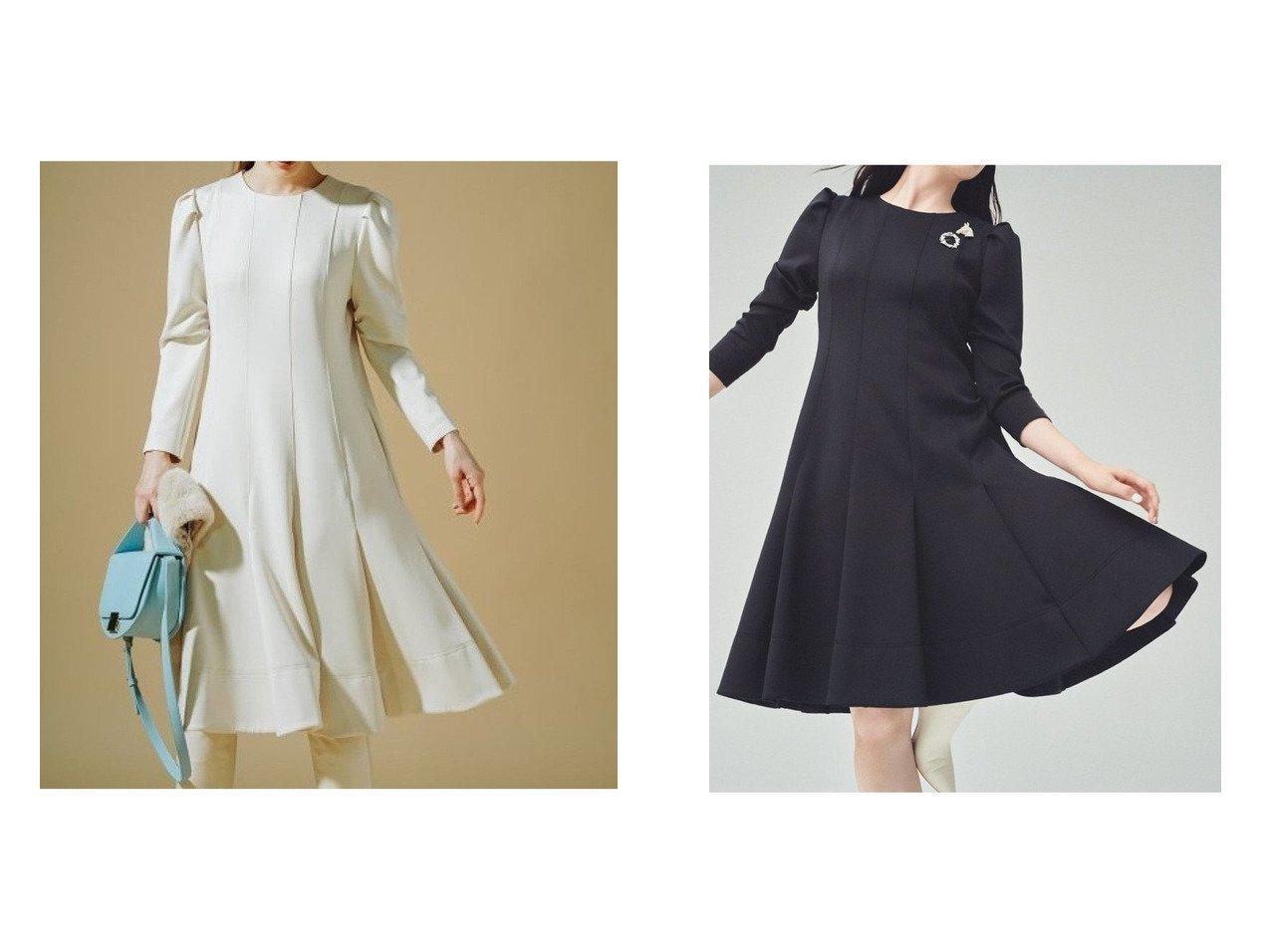 【CELFORD/セルフォード】のタックポンチワンピース おすすめ!人気、レディースファッションの通販  おすすめで人気のファッション通販商品 インテリア・家具・キッズファッション・メンズファッション・レディースファッション・服の通販 founy(ファニー) https://founy.com/ ファッションモデル・俳優・女優 Models 女性 Women 田中みな実 Tanaka Minami ファッション Fashion レディース WOMEN ワンピース Dress ウォッシャブル スリーブ トレンド |ID:crp329100000003646