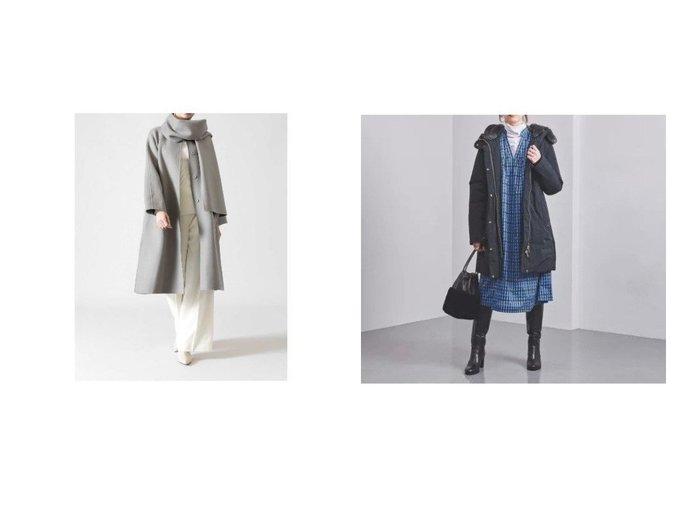 【UNITED ARROWS/ユナイテッドアローズ】の別注MAPLE ダウンコート&【ADORE/アドーア】の2TONEリバーコート 別注・限定・コラボなど、おすすめで人気!ファッション通販  おすすめファッション通販アイテム レディースファッション・服の通販 founy(ファニー) ファッション Fashion レディース WOMEN アウター Coat Outerwear コート Coats ダウン Down Coats And Jackets カシミヤ ストール スリーブ 別注 定番 アウトドア シェイプ ストレート ダウン 人気 秋冬 A/W Autumn/ Winter |ID:crp329100000003733