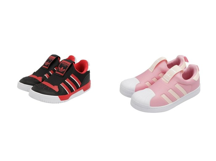 【adidas Originals / KIDS/アディダス オリジナルス】のライバルリー ロー 360 [Rivalry Low 360] アディダスオリジナルス(キッズ/子供用)&SST 360 C 【KIDS】子供服のおすすめ!人気、キッズファッションの通販 おすすめファッション通販アイテム レディースファッション・服の通販 founy(ファニー) ファッション Fashion キッズ KIDS クラシック シューズ スニーカー スリッポン ストレッチ メッシュ |ID:crp329100000003770