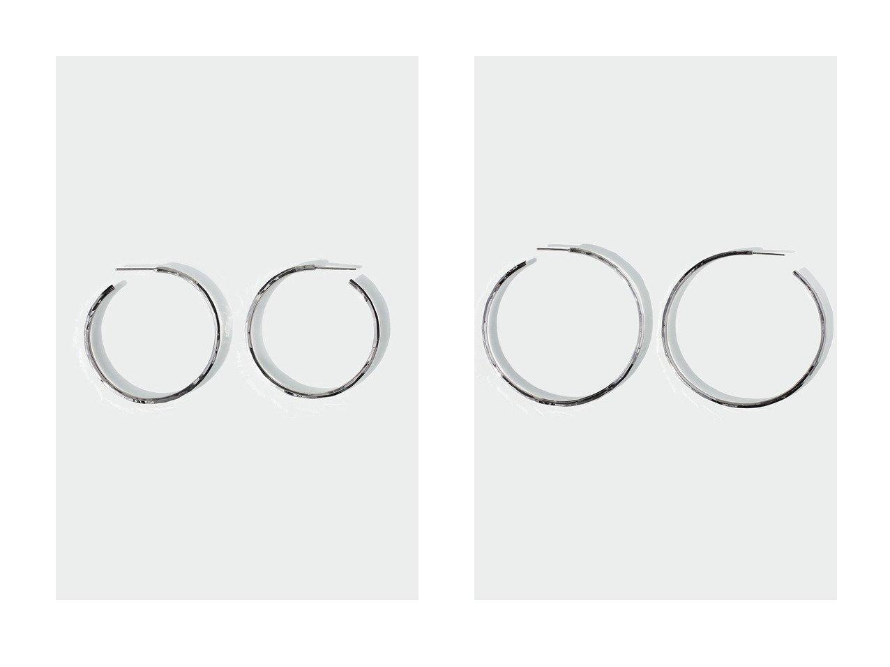 【AYAMI jewelry/アヤミ ジュエリー】のHand Cutting フープピアス M&Hand Cutting フープピアス L アクセサリー・ジュエリーのおすすめ!人気、レディースファッションの通販 おすすめで人気のファッション通販商品 インテリア・家具・キッズファッション・メンズファッション・レディースファッション・服の通販 founy(ファニー) https://founy.com/ ファッション Fashion レディース WOMEN カッティング シンプル ジュエリー ハンド フープ ランダム |ID:crp329100000003809
