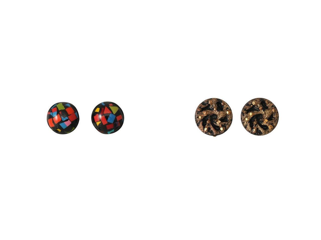 【allureville/アルアバイル】の【MARION GODART】 MULTI イヤリング&【MARION GODART】 LEOPARD イヤリング アクセサリー・ジュエリーのおすすめ!人気、レディースファッションの通販 おすすめで人気のファッション通販商品 インテリア・家具・キッズファッション・メンズファッション・レディースファッション・服の通販 founy(ファニー) https://founy.com/ ファッション Fashion レディース WOMEN ジュエリー Jewelry リング Rings イヤリング Earrings イヤリング シンプル フォルム パーティ ランダム レオパード 秋冬 A/W Autumn/ Winter |ID:crp329100000003814