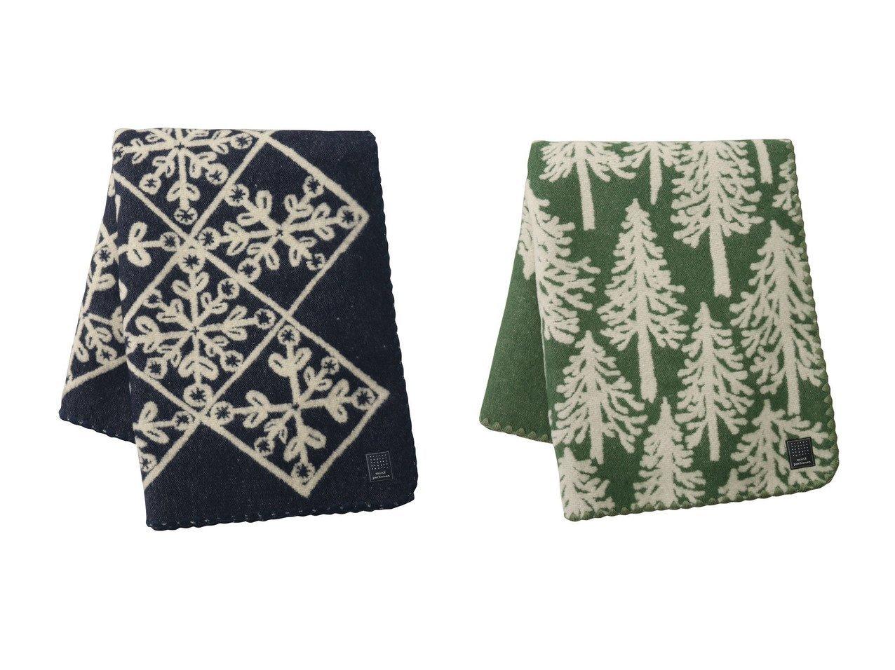 【mina perhonen / GOODS/ミナ ペルホネン】のmetsa ブランケット Small(約105×146cm)&kaleidoscope ブランケット Small(約110×146cm) おすすめ!人気、レディースファッションの通販 おすすめで人気のファッション通販商品 インテリア・家具・キッズファッション・メンズファッション・レディースファッション・服の通販 founy(ファニー) https://founy.com/ エレガント ブランケット 防寒 |ID:crp329100000003836
