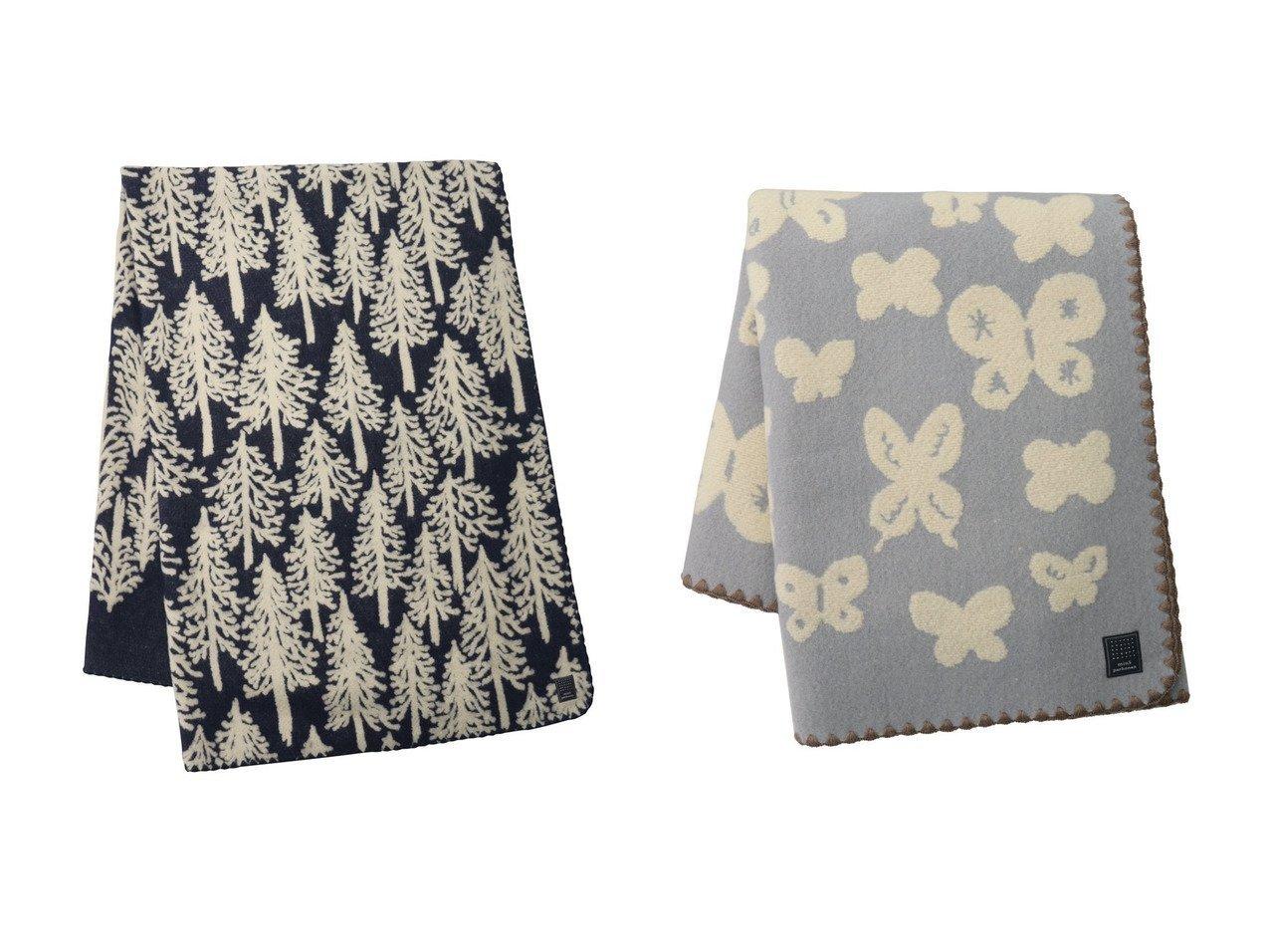 【mina perhonen / GOODS/ミナ ペルホネン】のmemoria ブランケット Small(約100×146cm)&metsa ブランケット Large(約220×146cm) おすすめ!人気、レディースファッションの通販 おすすめで人気のファッション通販商品 インテリア・家具・キッズファッション・メンズファッション・レディースファッション・服の通販 founy(ファニー) https://founy.com/ ブランケット 防寒 |ID:crp329100000003837