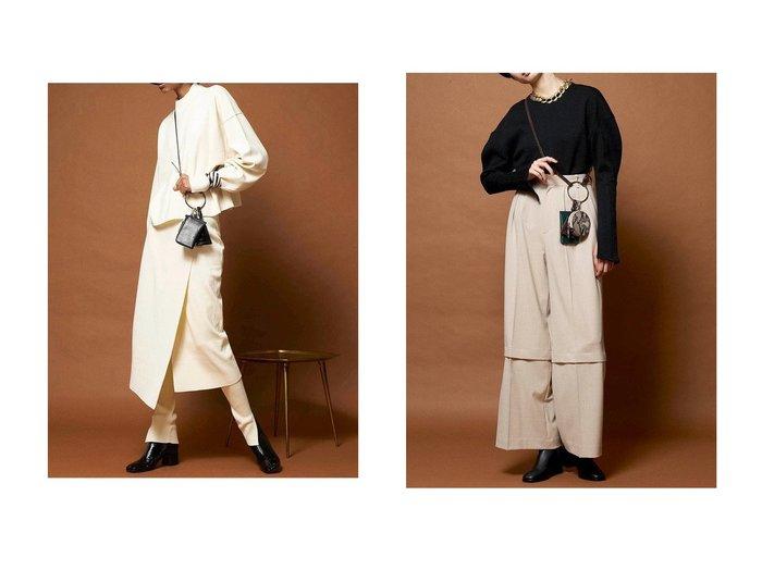 【MAISON SPECIAL/メゾンスペシャル】のヴィーガンレザーリングマルチケース おすすめ!人気、レディースファッションの通販 おすすめファッション通販アイテム レディースファッション・服の通販 founy(ファニー) ファッション Fashion レディース WOMEN ショルダー チャーム ポシェット ポーチ ロング  ID:crp329100000003846