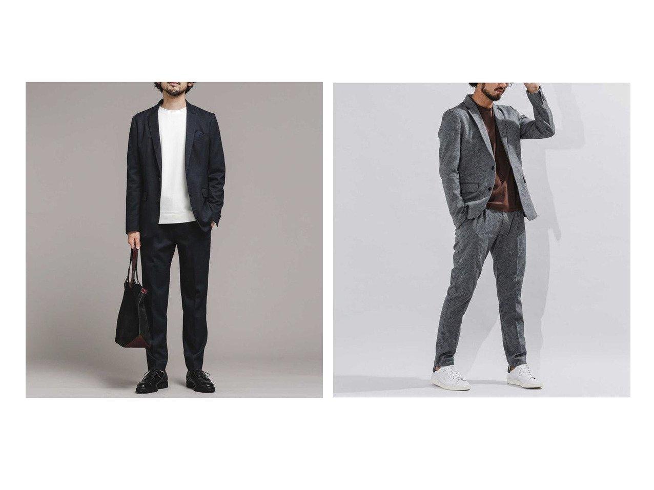 【nano universe / MEN/ナノ ユニバース】のダメリーノSOLOTEX フランネルセットアップ&ダメリーノ SQUALL PROOF ストレッチセットアップ 【MEN】男性のおすすめ!人気、メンズファッションの通販 おすすめで人気のファッション通販商品 インテリア・家具・キッズファッション・メンズファッション・レディースファッション・服の通販 founy(ファニー) https://founy.com/ ファッション Fashion メンズ MEN アウター Coats Outerwear Men テーラードジャケット Tailored Jackets アウトドア スタイリッシュ ストレッチ スペシャル スーツ セットアップ フォーマル フランス ワーク テーパード メランジ 軽量 |ID:crp329100000003854