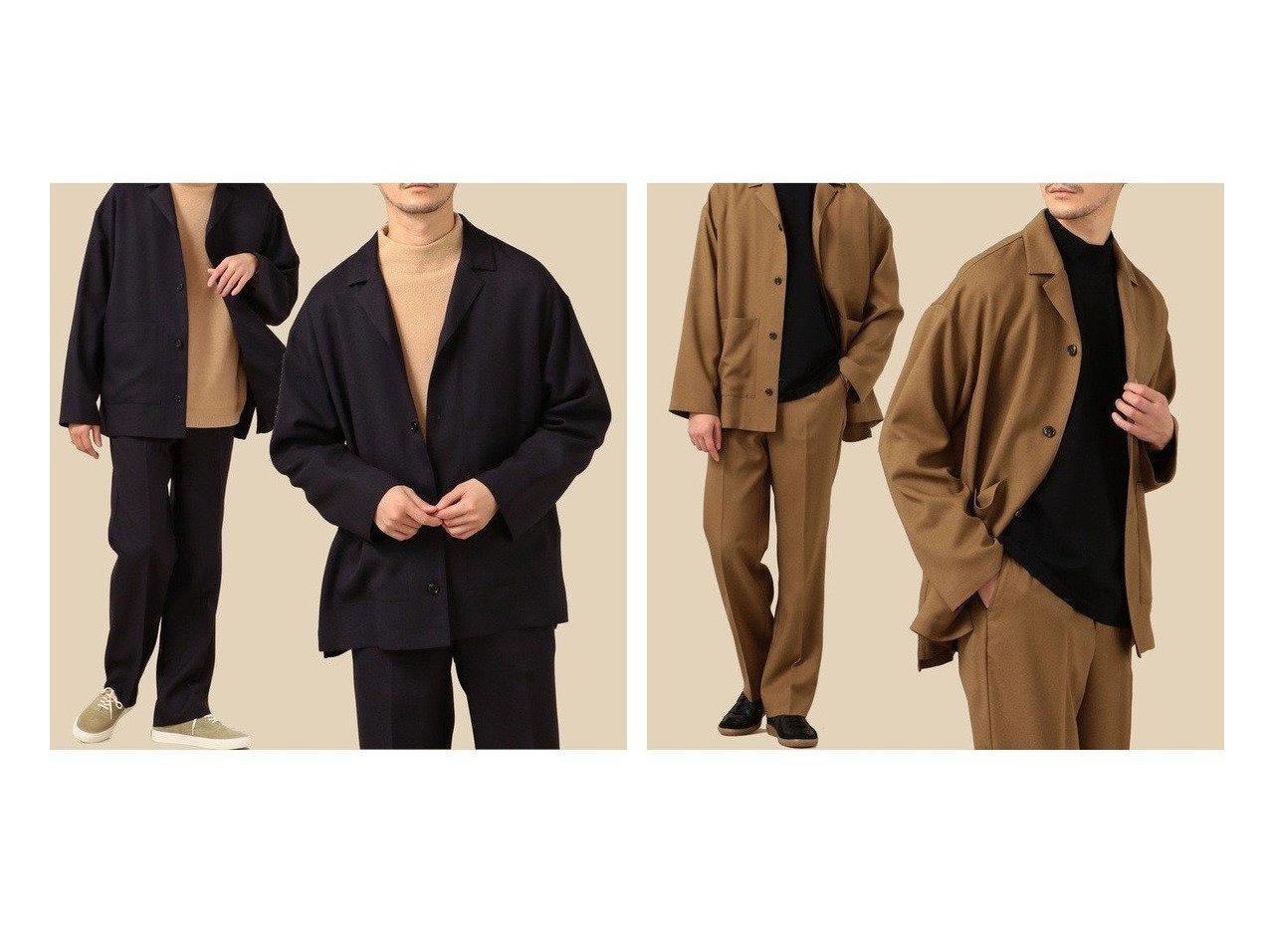 【SHIPS / MEN/シップス】のSHIPS セットアップ対応 リラックス カバージャケット 【MEN】男性のおすすめ!人気、メンズファッションの通販 おすすめで人気のファッション通販商品 インテリア・家具・キッズファッション・メンズファッション・レディースファッション・服の通販 founy(ファニー) https://founy.com/ ファッション Fashion メンズ MEN アウター Coats Outerwear Men テーラードジャケット Tailored Jackets ジャケット ストレッチ セットアップ ツイル テーパード リラックス レギュラー ワイド ワーク 軽量 |ID:crp329100000003861