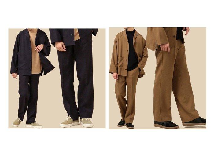 【SHIPS / MEN/シップス】のSHIPS セットアップ対応 リラックス ストレート イージースラックス 【MEN】男性のおすすめ!人気、メンズファッションの通販 おすすめ人気トレンドファッション通販アイテム インテリア・キッズ・メンズ・レディースファッション・服の通販 founy(ファニー) https://founy.com/ ファッション Fashion メンズ MEN ボトムス Bottoms Men セットアップ Setup Men ボトムス Bottoms ジャケット ストレッチ ストレート スラックス セットアップ ツイル テーパード リラックス レギュラー ワイド 軽量 |ID:crp329100000003898