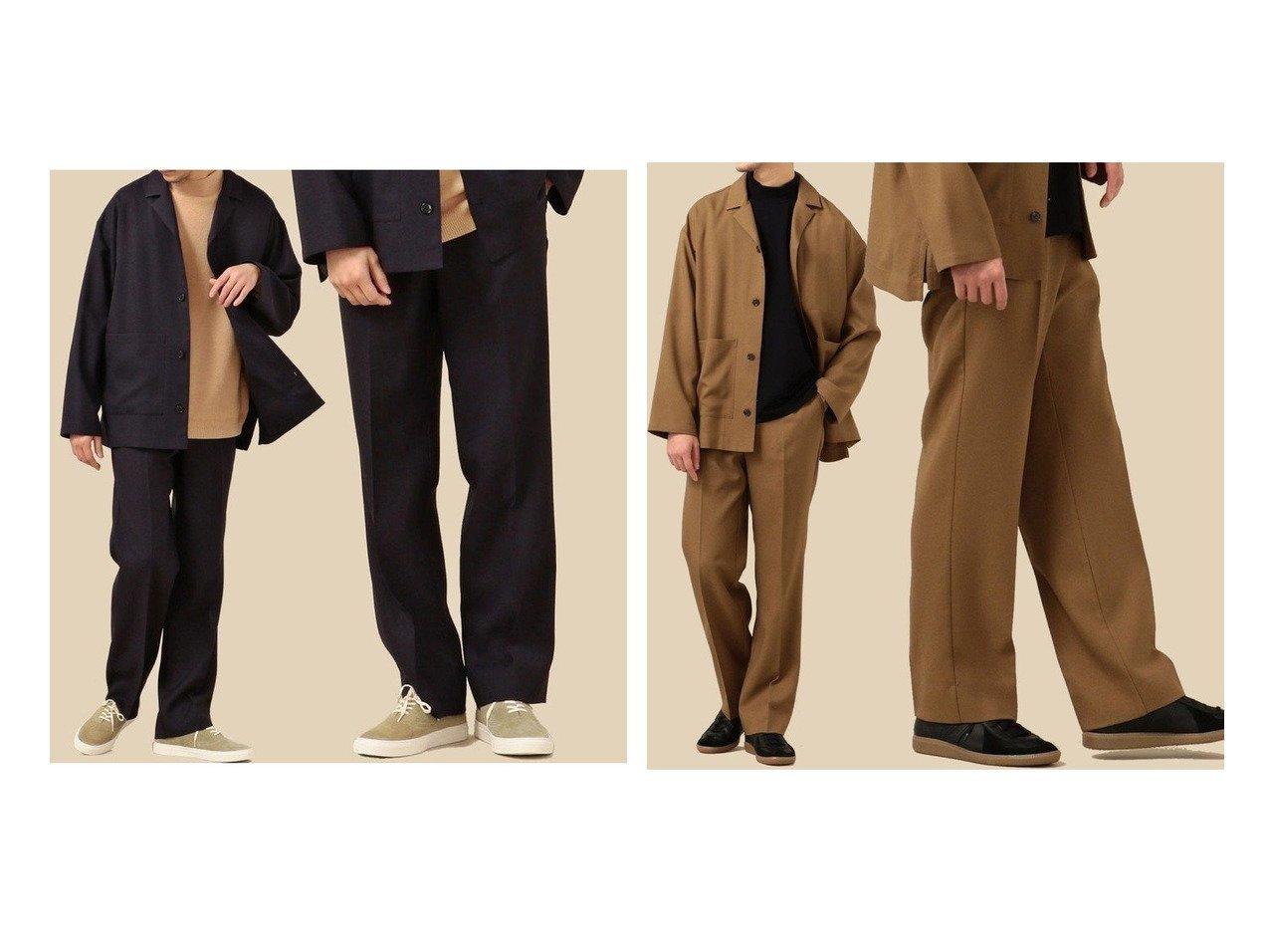 【SHIPS / MEN/シップス】のSHIPS セットアップ対応 リラックス ストレート イージースラックス 【MEN】男性のおすすめ!人気、メンズファッションの通販 おすすめファッション通販アイテム インテリア・キッズ・メンズ・レディースファッション・服の通販 founy(ファニー) ファッション Fashion メンズ MEN ボトムス Bottoms Men セットアップ Setup Men ボトムス Bottoms ジャケット ストレッチ ストレート スラックス セットアップ ツイル テーパード リラックス レギュラー ワイド 軽量 ブラック系 Black |ID:crp329100000003898