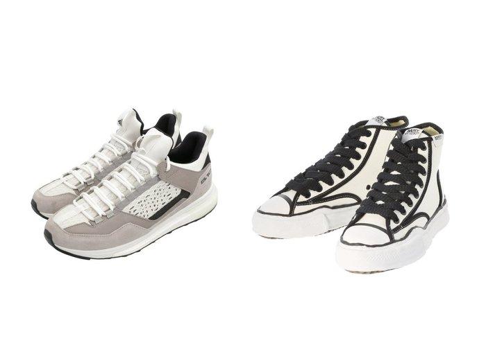 【adidas Sports Performance / MEN/アディダス スポーツ パフォーマンス】のファイブテン ファイブテニー DLX アプローチ [Five Ten Five Tennie DLX Approach] アディダス&【around the shoes / MEN/アラウンドザシューズ】のメゾンミハラヤスヒロ/MaisonMIHARAYASUHIROハイカットスニーカー 【MEN】男性のおすすめ!人気、メンズファッションの通販 おすすめファッション通販アイテム レディースファッション・服の通販 founy(ファニー) ファッション Fashion メンズ MEN シューズ・靴 Shoes Men スニーカー Sneakers クッション シューズ スニーカー スポーツ スリッポン フィット ミックス メッシュ ランニング レギュラー 軽量 コレクション 定番 パイピング ワーク 秋冬 A/W Autumn/ Winter |ID:crp329100000003913