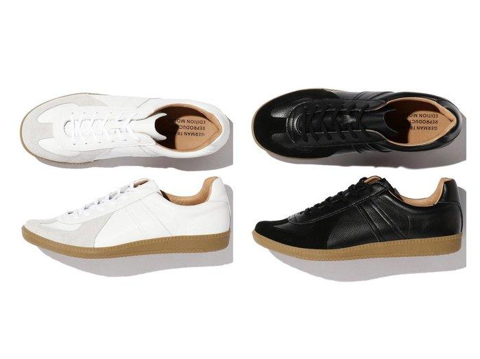 【B:MING LIFE STORE / MEN/ビーミングライフストア】のREPRO 【MEN】男性のおすすめ!人気、メンズファッションの通販 おすすめ人気トレンドファッション通販アイテム 人気、トレンドファッション・服の通販 founy(ファニー) ファッション Fashion メンズ MEN シューズ・靴 Shoes Men スニーカー Sneakers クッション シューズ スニーカー スリッポン ミリタリー モダン |ID:crp329100000003918