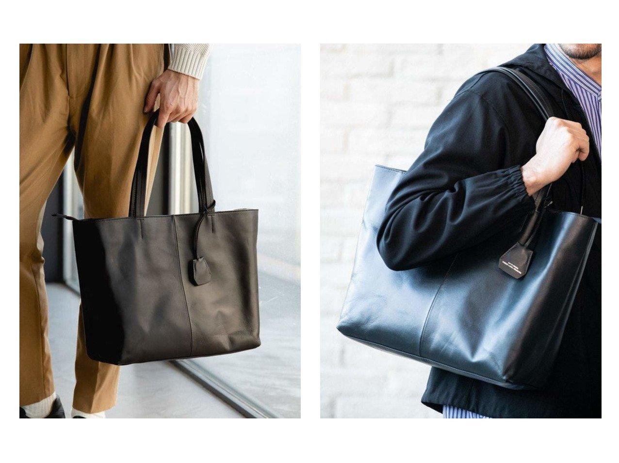 【green label relaxing / UNITED ARROWS / MEN/グリーンレーベルリラクシング メン】のSC GLR ファンクショナル レザートート バッグ 【MEN】男性のおすすめ!人気、メンズファッションの通販 おすすめで人気のファッション通販商品 インテリア・家具・キッズファッション・メンズファッション・レディースファッション・服の通販 founy(ファニー) https://founy.com/ ファッション Fashion メンズ MEN バッグ Bag Men トートバッグ Tote Bags ウォレット クッション 傘 定番 ポケット マグネット メッシュ  ID:crp329100000003920