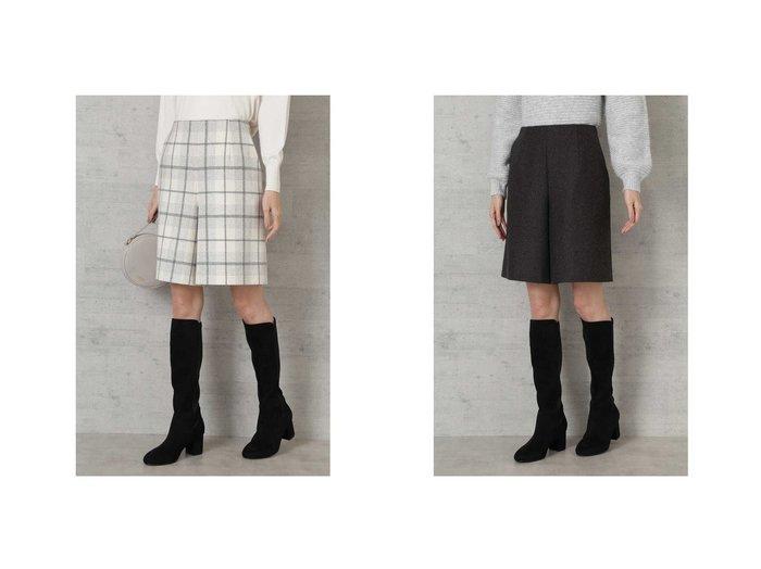 【NATURAL BEAUTY BASIC/ナチュラル ビューティー ベーシック】のウール混キュロットパンツ パンツのおすすめ!人気、レディースファッションの通販  おすすめファッション通販アイテム レディースファッション・服の通販 founy(ファニー) ファッション Fashion レディース WOMEN スカート Skirt キュロット スマート タイツ バランス 切替 |ID:crp329100000004012