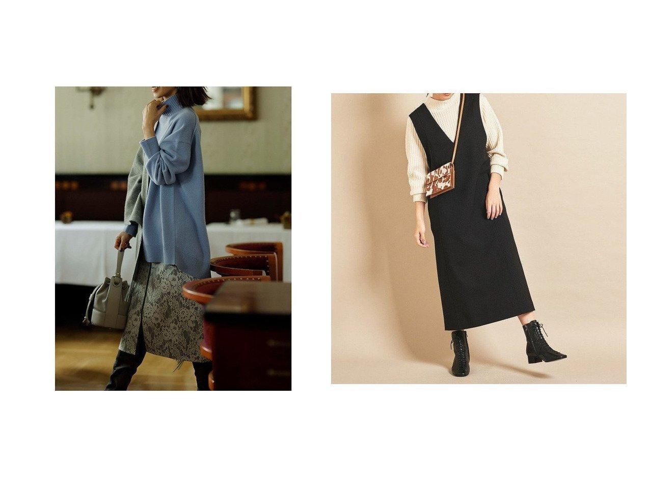 【BEAUTY&YOUTH UNITED ARROWS/ビューティアンド ユースユナイテッドアローズ】のBY∴ Vネックジャンパースカート&【JUSGLITTY/ジャスグリッティー】のレースボンディングタイトスカート スカートのおすすめ!人気、レディースファッションの通販  おすすめで人気のファッション通販商品 インテリア・家具・キッズファッション・メンズファッション・レディースファッション・服の通販 founy(ファニー) https://founy.com/ ファッション Fashion レディース WOMEN スカート Skirt タイトスカート パイピング パーティ フロント ボンディング レース インナー シンプル スニーカー スマート トレンド 定番 バランス ポケット  ID:crp329100000004033