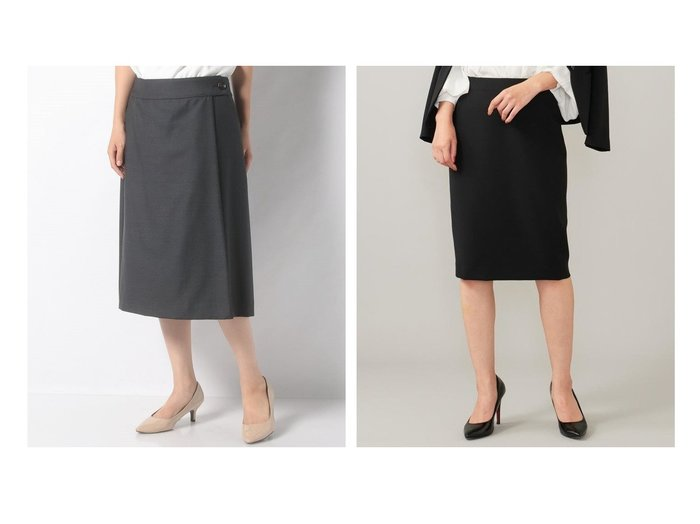 【BEIGE,/ベイジ,】のスカート&【OLD ENGLAND/オールド イングランド】のロロピアーナスカート スカートのおすすめ!人気、レディースファッションの通販  おすすめファッション通販アイテム レディースファッション・服の通販 founy(ファニー) ファッション Fashion レディース WOMEN スカート Skirt スーツ Suits スーツ スカート Skirt シンプル スマート トレンド ラップ 無地 ストレッチ スーツ タイトスカート フォーマル A/W 秋冬 Autumn /  Winter |ID:crp329100000004055