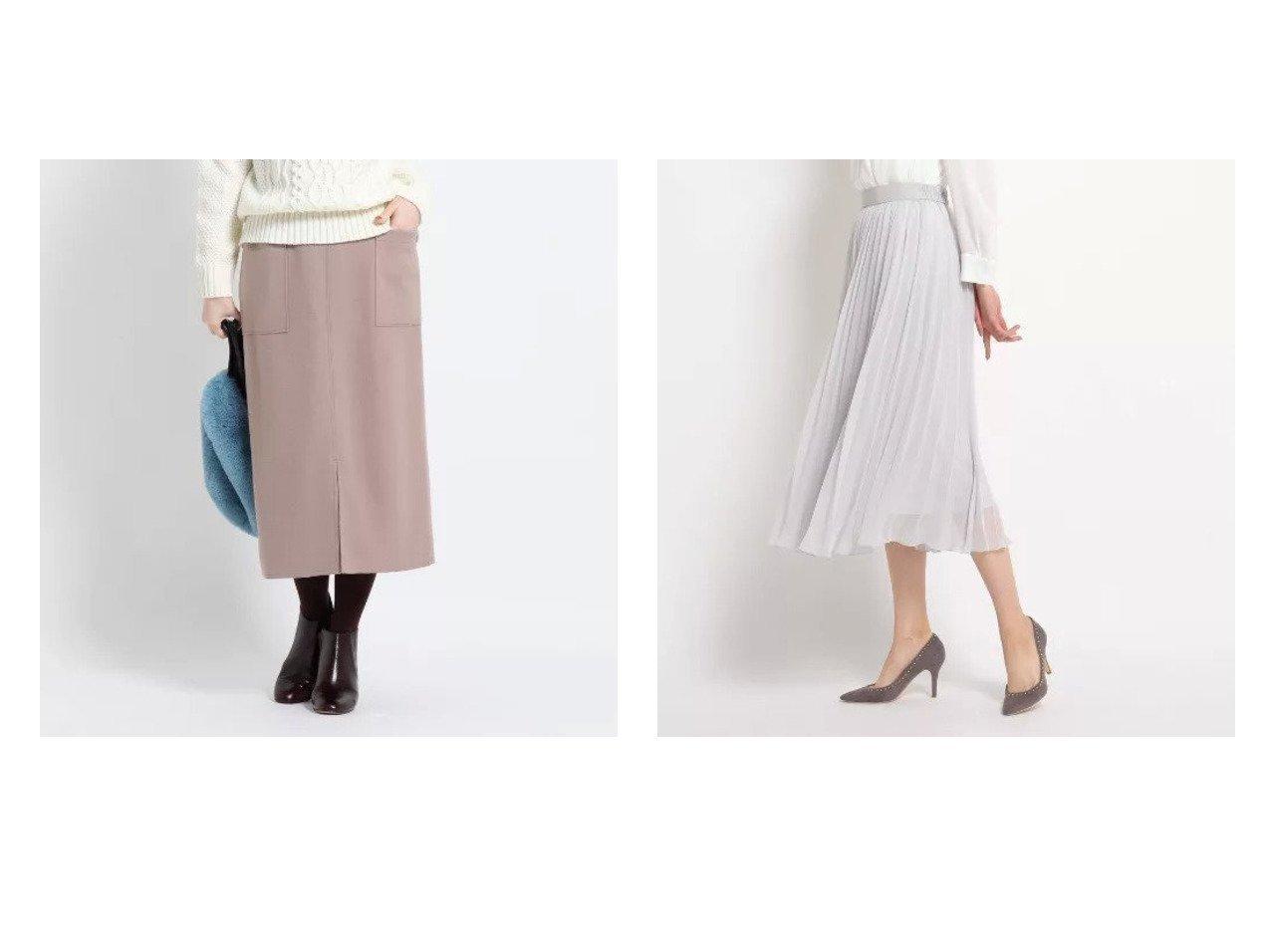 【Dessin/デッサン】の【XS~Lサイズあり】ジャージメルトンタイトスカート&【COUP DE CHANCE/クード シャンス】の【洗える】エテプリーツフレアスカート スカートのおすすめ!人気、レディースファッションの通販  おすすめで人気のファッション通販商品 インテリア・家具・キッズファッション・メンズファッション・レディースファッション・服の通販 founy(ファニー) https://founy.com/ ファッション Fashion レディース WOMEN スカート Skirt Aライン/フレアスカート Flared A-Line Skirts タイトスカート ポケット シアー プリーツ |ID:crp329100000004078
