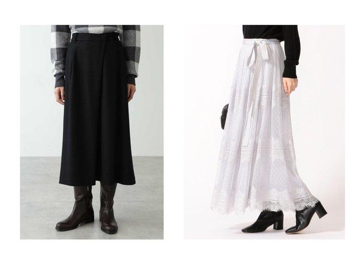 【HUMAN WOMAN/ヒューマンウーマン】の圧縮スムーススカート&【SHIPS/シップス フォー ウィメン】のシアーレーススカート スカートのおすすめ!人気、レディースファッションの通販  おすすめファッション通販アイテム レディースファッション・服の通販 founy(ファニー) ファッション Fashion レディース WOMEN スカート Skirt ロングスカート Long Skirt イレギュラー コンパクト シンプル サテン チュール バランス ペチコート レース ロング |ID:crp329100000004083