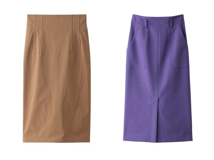 【allureville/アルアバイル】のベイカーPKタイトスカート&【ANAYI/アナイ】の2WAYストレッチタイトスカート スカートのおすすめ!人気、レディースファッションの通販  おすすめファッション通販アイテム レディースファッション・服の通販 founy(ファニー) ファッション Fashion レディース WOMEN スカート Skirt ロングスカート Long Skirt シャーリング シンプル タイトスカート ロング カットソー スタイリッシュ スリット トレンド フロント ワーク |ID:crp329100000004093