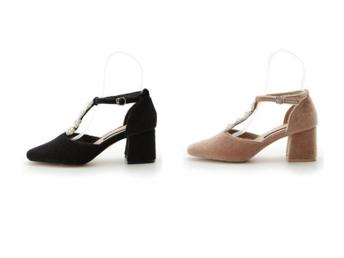 【Lily Brown/リリーブラウン】のL.B CANDY STOCK パールフラワーパンプス シューズ・靴のおすすめ!人気、レディースファッションの通販  おすすめファッション通販アイテム レディースファッション・服の通販 founy(ファニー) ファッション Fashion レディース WOMEN エレガント シューズ ジュエリー ストラップパンプス スマート ドレス パール ビジュー フォルム フラワー A/W 秋冬 Autumn & Winter 冬 Winter |ID:crp329100000004101