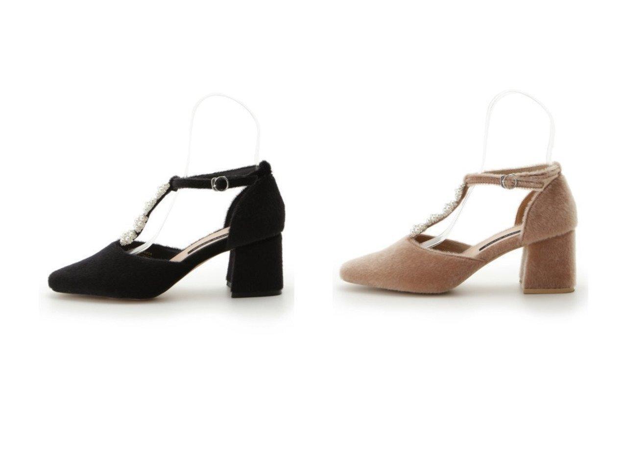 【Lily Brown/リリーブラウン】のL.B CANDY STOCK パールフラワーパンプス シューズ・靴のおすすめ!人気、レディースファッションの通販  おすすめで人気のファッション通販商品 インテリア・家具・キッズファッション・メンズファッション・レディースファッション・服の通販 founy(ファニー) https://founy.com/ ファッション Fashion レディース WOMEN エレガント シューズ ジュエリー ストラップパンプス スマート ドレス パール ビジュー フォルム フラワー A/W 秋冬 Autumn &  Winter 冬 Winter |ID:crp329100000004101