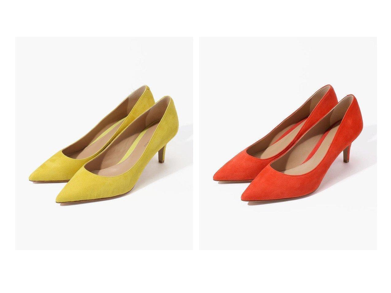【TOMORROWLAND GOODs/トゥモローランド グッズ】のTOMORROWLAND スエードパンプス シューズ・靴のおすすめ!人気、レディースファッションの通販  おすすめで人気のファッション通販商品 インテリア・家具・キッズファッション・メンズファッション・レディースファッション・服の通販 founy(ファニー) https://founy.com/ ファッション Fashion レディース WOMEN シューズ スエード |ID:crp329100000004102