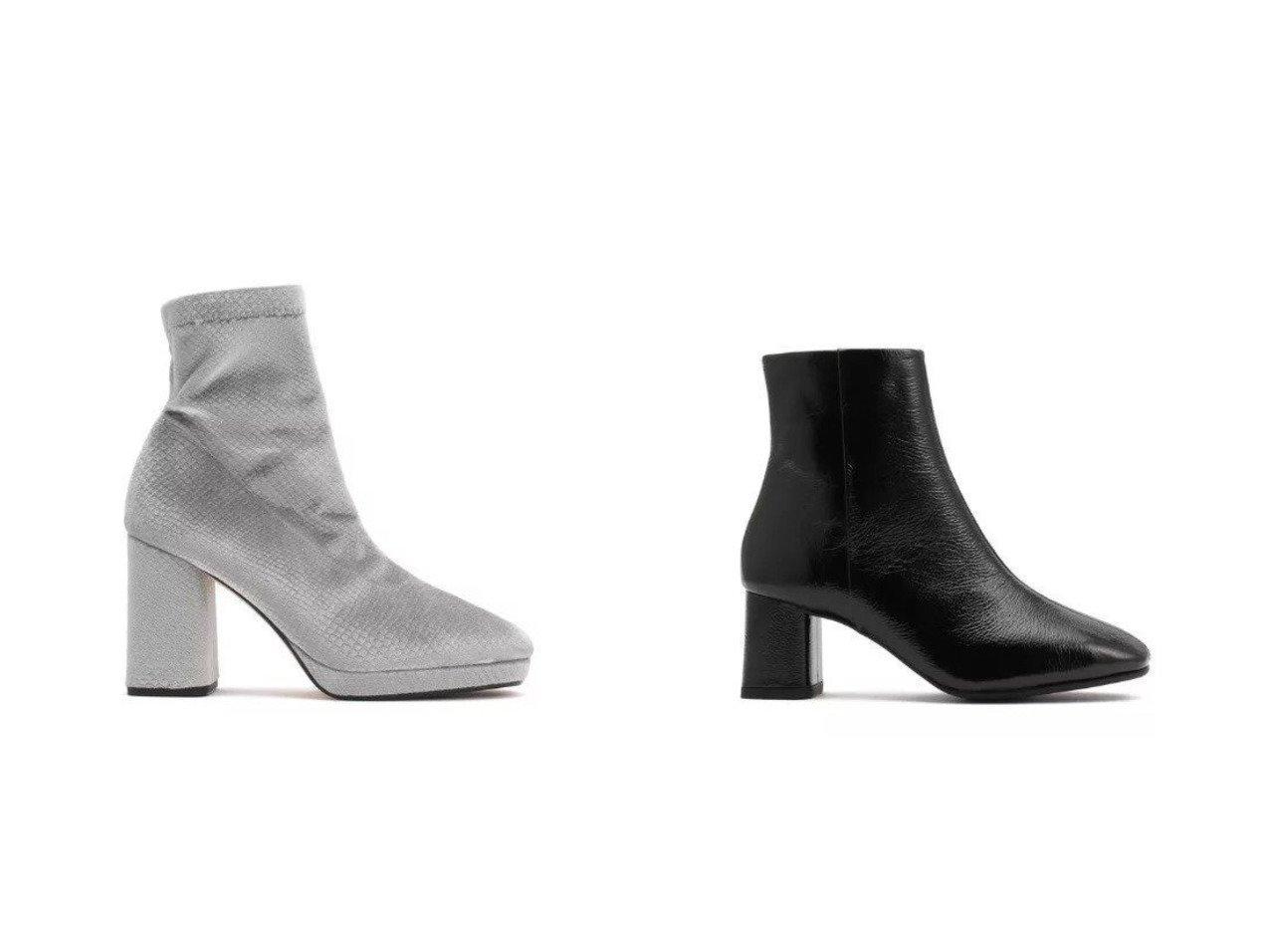 【repetto/レペット】のPony Ankle Boots&Phoebe Boots シューズ・靴のおすすめ!人気、レディースファッションの通販  おすすめで人気のファッション通販商品 インテリア・家具・キッズファッション・メンズファッション・レディースファッション・服の通販 founy(ファニー) https://founy.com/ ファッション Fashion レディース WOMEN アンクル クロコ シューズ ショート ストレッチ ブロック モダン |ID:crp329100000004115