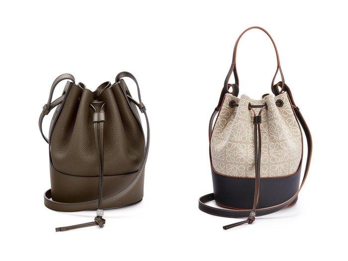 【LOEWE/ロエベ】のバルーンバッグ(アナグラムリネン&カーフ)&バルーンバッグスモール(グレインカーフ) バッグ・鞄のおすすめ!人気、レディースファッションの通販  おすすめファッション通販アイテム インテリア・キッズ・メンズ・レディースファッション・服の通販 founy(ファニー) https://founy.com/ ファッション Fashion レディース WOMEN クラシック ショルダー ハンド ポシェット ロング 軽量 |ID:crp329100000004141