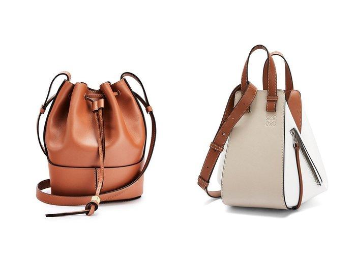 【LOEWE/ロエベ】のバルーンバッグスモール(ナパカーフ)&ハンモックバッグスモール(クラシックカーフ) バッグ・鞄のおすすめ!人気、レディースファッションの通販  おすすめファッション通販アイテム インテリア・キッズ・メンズ・レディースファッション・服の通販 founy(ファニー) https://founy.com/ ファッション Fashion レディース WOMEN クラシック ショルダー ハンド ポシェット ロング 軽量 ハンドバッグ フォルム ポケット 人気 |ID:crp329100000004144