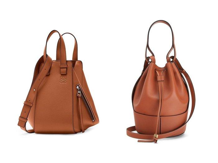 【LOEWE/ロエベ】のハンモックバッグスモール(クラシックカーフ)&バルーンバッグ(ナパカーフ) バッグ・鞄のおすすめ!人気、レディースファッションの通販  おすすめファッション通販アイテム インテリア・キッズ・メンズ・レディースファッション・服の通販 founy(ファニー) https://founy.com/ ファッション Fashion レディース WOMEN ハンド ハンドバッグ フォルム ポケット 人気 クラシック ショルダー バルーン 軽量 |ID:crp329100000004146