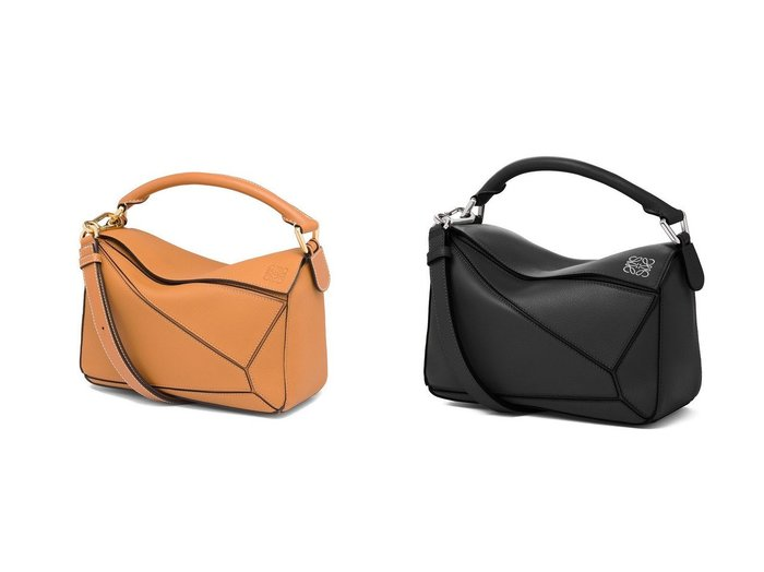 【LOEWE/ロエベ】のパズルバッグスモール(クラシックカーフ)&パズルバッグスモール(ソフトグレインカーフ) バッグ・鞄のおすすめ!人気、レディースファッションの通販  おすすめファッション通販アイテム インテリア・キッズ・メンズ・レディースファッション・服の通販 founy(ファニー) https://founy.com/ ファッション Fashion レディース WOMEN カッティング ショルダー ハンド ハンドバッグ |ID:crp329100000004149
