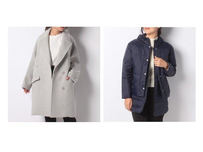 【DECOY Since1981/デコイ】の軽量3WAYダウンコート&【LOUNIE/ルーニィ】のオーバーコート アウターのおすすめ!人気、レディースファッションの通販  おすすめファッション通販アイテム レディースファッション・服の通販 founy(ファニー) ファッション Fashion レディース WOMEN アウター Coat Outerwear コート Coats ダウン Down Coats And Jackets シンプル ダウン 軽量 |ID:crp329100000004184