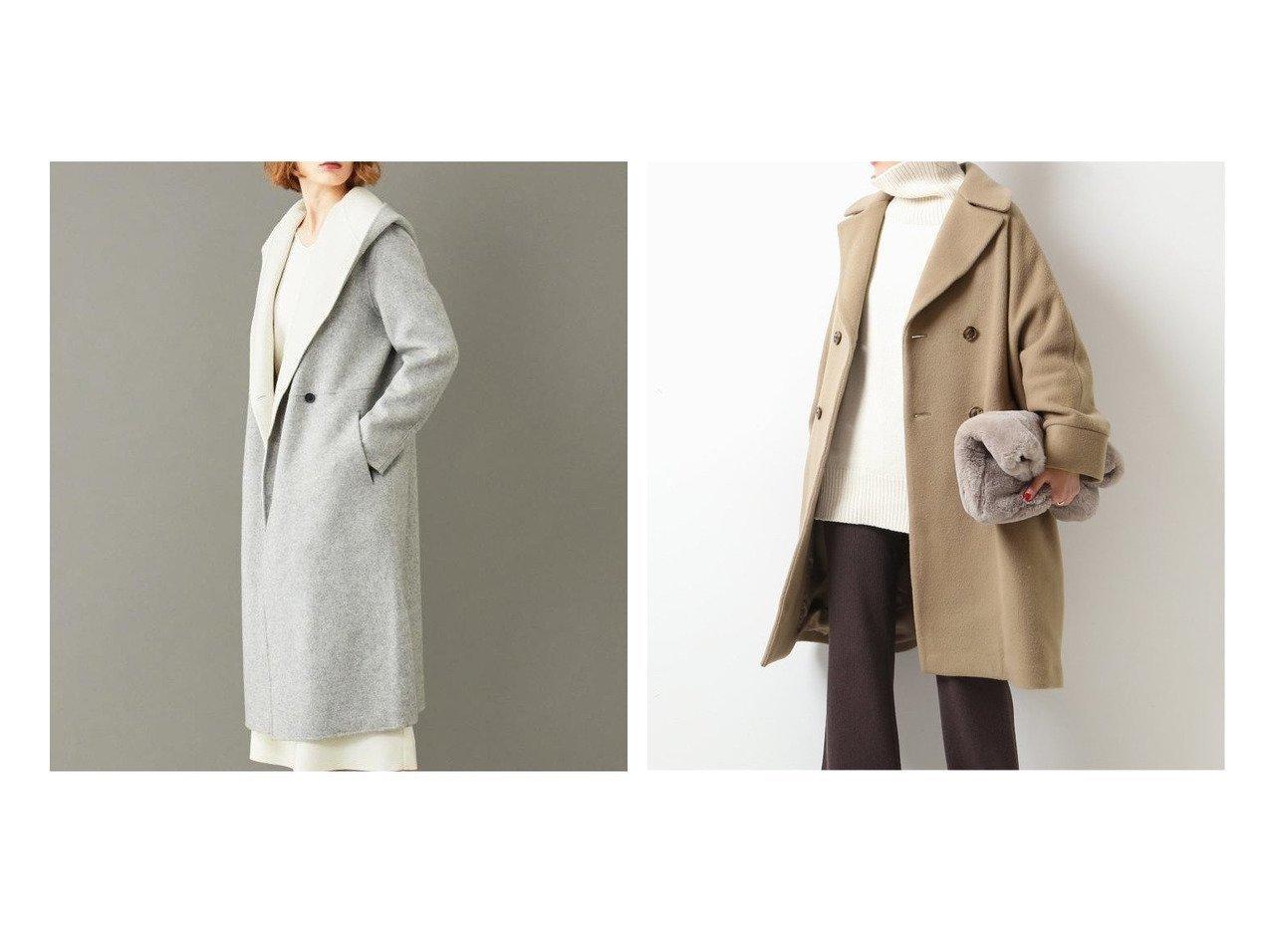 【Spick & Span/スピック&スパン】の【TICCA】テントコート&【BEIGE,/ベイジ,】の2WAYリバーコート アウターのおすすめ!人気、レディースファッションの通販  おすすめで人気のファッション通販商品 インテリア・家具・キッズファッション・メンズファッション・レディースファッション・服の通販 founy(ファニー) https://founy.com/ ファッション Fashion レディース WOMEN アウター Coat Outerwear コート Coats シンプル スマート パターン A/W 秋冬 Autumn &  Winter 人気 定番 |ID:crp329100000004187