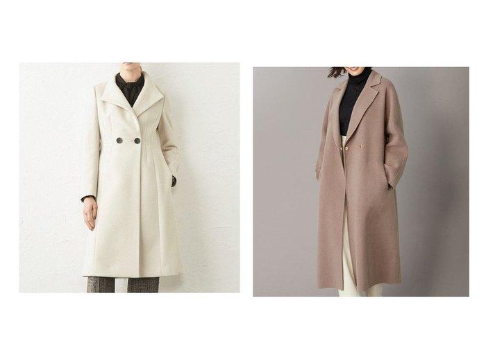 【BEIGE,/ベイジ,】の【S-size】 コート&【EPOCA/エポカ】のウールクロスコート アウターのおすすめ!人気、レディースファッションの通販  おすすめファッション通販アイテム インテリア・キッズ・メンズ・レディースファッション・服の通販 founy(ファニー) https://founy.com/ ファッション Fashion レディース WOMEN アウター Coat Outerwear コート Coats チェスターコート Top Coat チェスターコート A/W 秋冬 Autumn & Winter ベーシック  ID:crp329100000004194