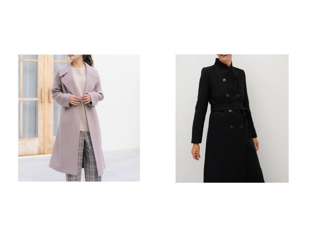 【MANGO/マンゴ】のコート .-- LUNA&【Rewde/ルゥデ】のガウン風コート アウターのおすすめ!人気、レディースファッションの通販  おすすめで人気のファッション通販商品 インテリア・家具・キッズファッション・メンズファッション・レディースファッション・服の通販 founy(ファニー) https://founy.com/ ファッション Fashion レディース WOMEN アウター Coat Outerwear コート Coats ガウン トレンド フロント ポケット ラップ ループ ロング 長袖 |ID:crp329100000004226