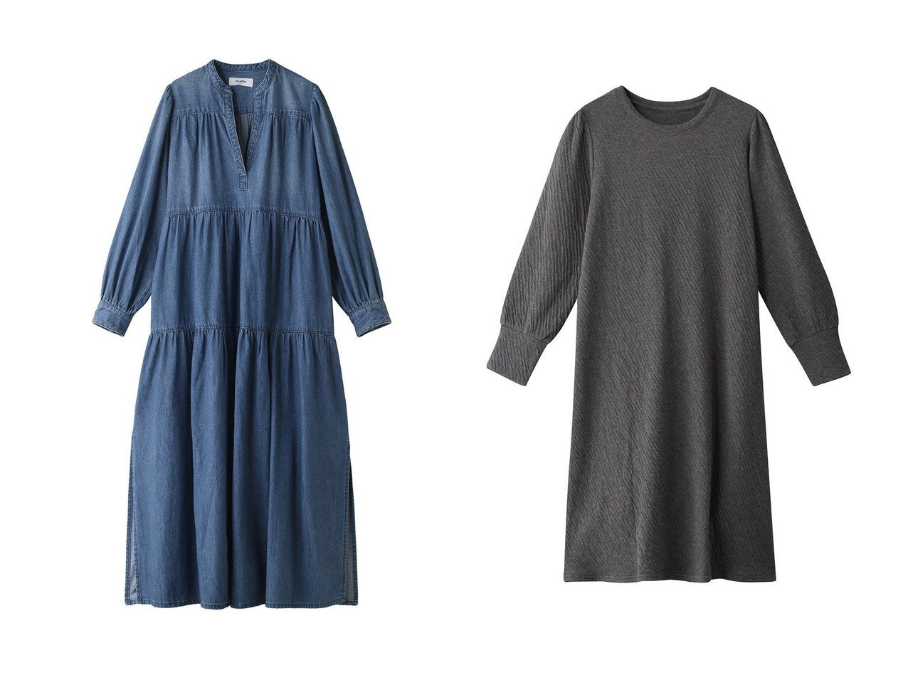 【Healthy Denim/ヘルシーデニム】のLychee カフタンワンピース&【nanadecor/ナナデコール】のリラックスコットンパフスリーブ OP ワンピース・ドレスのおすすめ!人気、レディースファッションの通販  おすすめで人気のファッション通販商品 インテリア・家具・キッズファッション・メンズファッション・レディースファッション・服の通販 founy(ファニー) https://founy.com/ ファッション Fashion レディース WOMEN ワンピース Dress トレンド リラックス ロング シンプル  ID:crp329100000004264