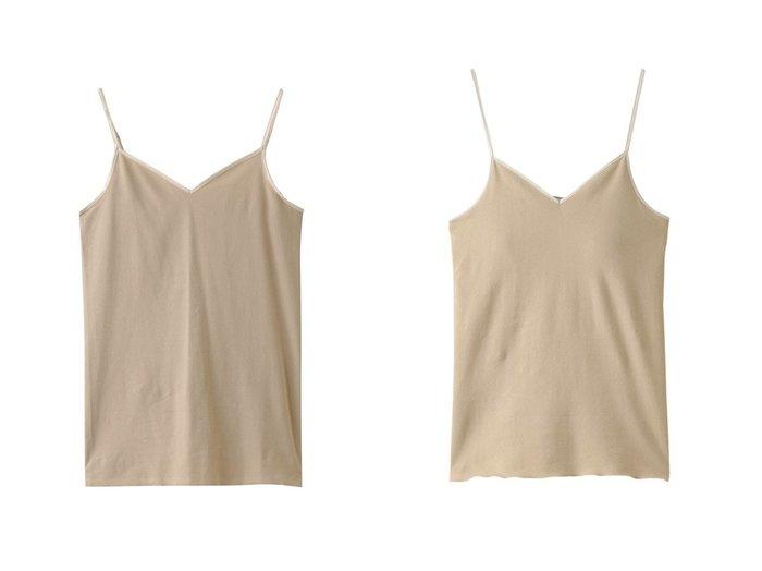 【UNDERSON UNDERSON/アンダーソン アンダーソン】のカップインキャミソール&キャミソール トップス・カットソーのおすすめ!人気、レディースファッションの通販  おすすめファッション通販アイテム レディースファッション・服の通販 founy(ファニー) ファッション Fashion レディース WOMEN トップス Tops Tshirt キャミソール / ノースリーブ No Sleeves インナー キャミ キャミソール フィット トレンド ラップ |ID:crp329100000004337