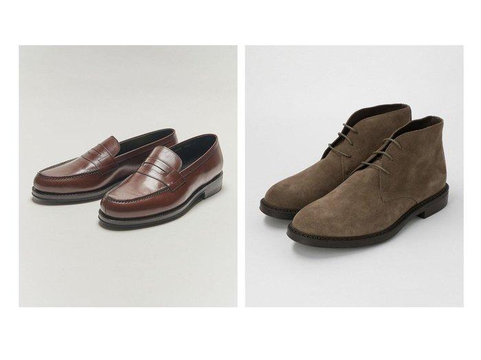 【BEAUTY&YOUTH UNITED ARROWS / MEN/ビューティアンドユース ユナイテッド アローズ】の【別注】ローファー&【別注】ブーツ 【MEN】別注・限定・コラボなど、おすすめで人気!メンズファッション通販 おすすめファッション通販アイテム レディースファッション・服の通販 founy(ファニー) ファッション Fashion メンズ MEN シューズ・靴 Shoes Men ブーツ Boots クッション シューズ 別注 定番 |ID:crp329100000004588