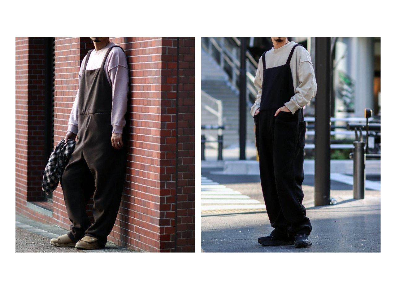 【JOURNAL STANDARD relume / MEN/ジャーナルスタンダード レリューム】の【relume × スミス】別注フリース オーバーオール 【MEN】別注・限定・コラボなど、おすすめで人気!メンズファッション通販 おすすめで人気のファッション通販商品 インテリア・家具・キッズファッション・メンズファッション・レディースファッション・服の通販 founy(ファニー) https://founy.com/ ファッション Fashion メンズ MEN サスペンダー ニューヨーク ベーシック ポケット 別注 リラックス ワーク |ID:crp329100000004602